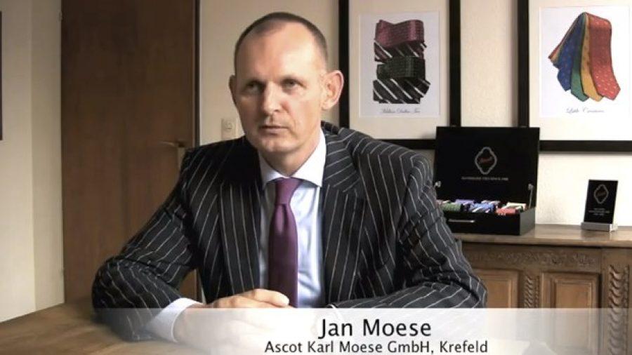 Ascot – Handgenähte Krawatten aus Krefeld