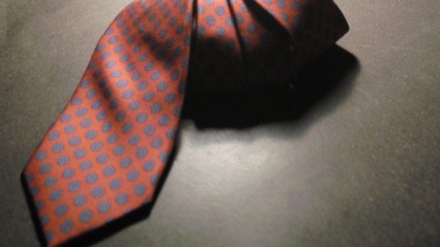 Die Diva unter den Krawattenseiden